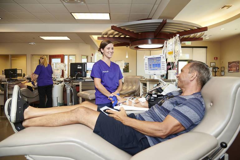 Vitalant blood donor