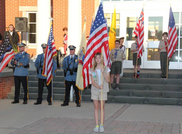Sparta Elks Lodge 2356 annual Flag Day ceremony