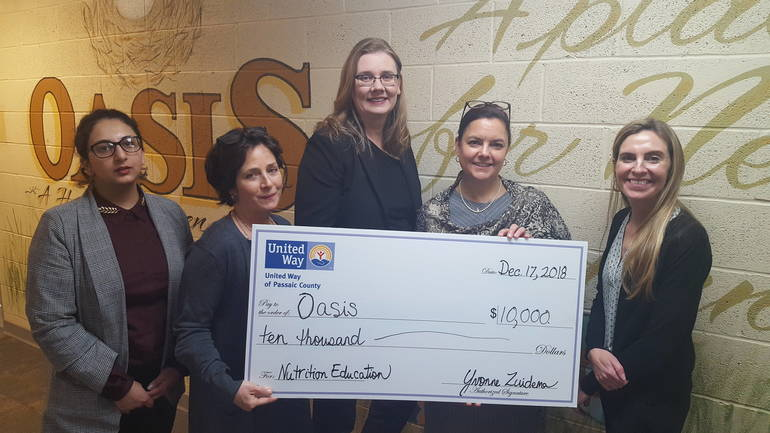 United Way of Passaic County Announces Grants to Fight Hunger