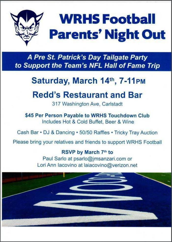 2020 WRHS Football Parents Night Out Fundraiser for HOF trip.JPG