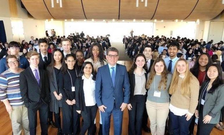 2019 HHHS delegation at St Peters Model UN Competition from C Cassidy.jpg