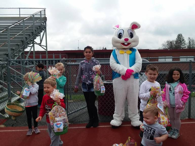 Newton Welcomes the Spirit of Easter Into Town