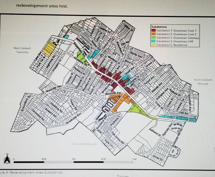Caldwell Council Introduces Ordinance to Adopt Redevelopment Plan