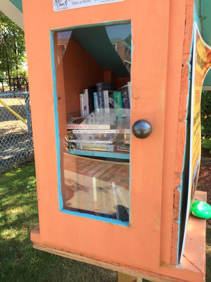 2019 WR Little Free Library vandalized Sept 2019 from Kris Amels.jpg
