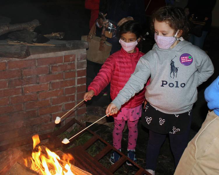 2020-06-02 Enrichment Girl Scouts Campfire patch 2.JPG
