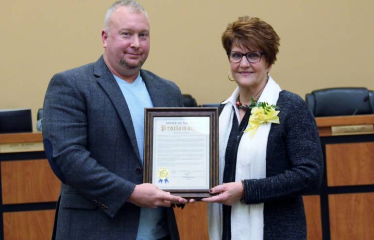 Dilworth Township Council Proclamation 18