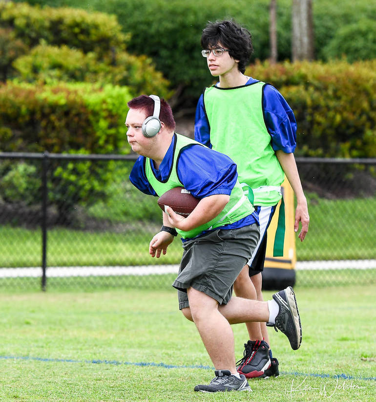 Parkland Buddy Sports Football