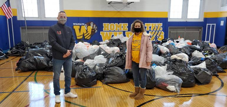 Washington School Holds Clothing Drive; Donates Proceeds to Make-A-Wish Foundation
