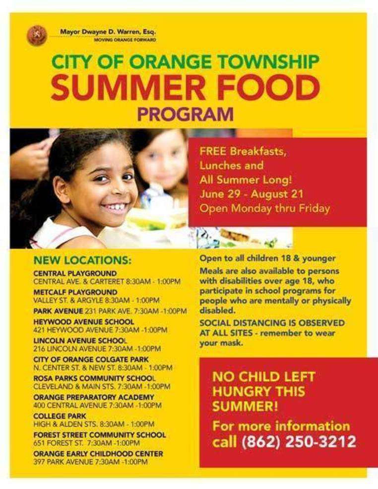 Orange School Food Distribution