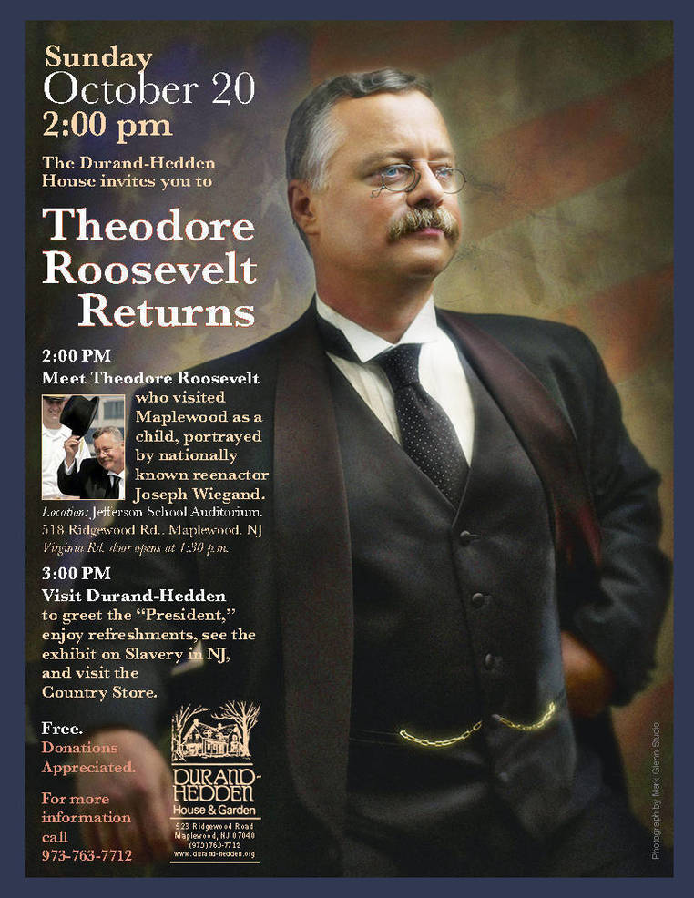 Teddy Roosevelt returns to Maplewood