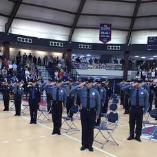 FIFTY-NINE FINE MEN AND WOMEN GRADUATE FROM MONMOUTH COUNTY POLICE ACADEMY
