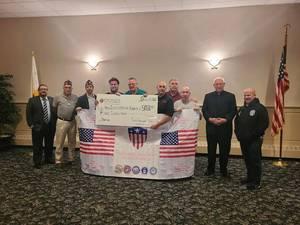 Cranford Knights of Columbus Donation to the NJ Veteran's Network