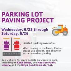 Madison Area YMCA Set to Begin Parking Lot Paving Project
