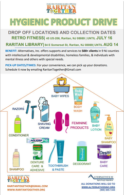 Raritan Together Starting Cleanups, Collecting for Alternatives Inc.