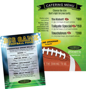 Carousel image 3aef94d515f229941676 2019 football catering and table card combo