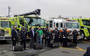 Carousel image 41167bfa07a51613098a 2021 hhfd receives donation from port authority on wed march 17 2021 from panynj