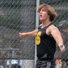 Super Soph Fabian Gonzalez Takes First Place in NJSIAA Meet of Champions Discus Competiton