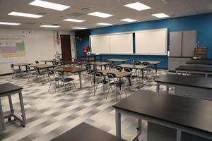 Randolph High School Science Rooms Updated