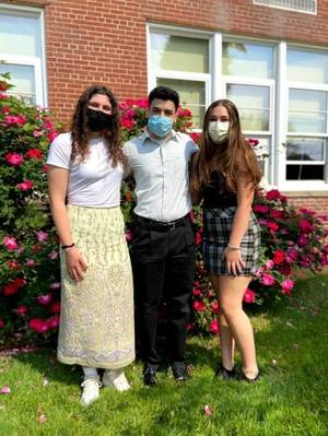 Hasbrouck Heights Names Top Three Students for the Class of 2021