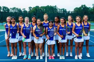 Westfield Girls Tennis Off to a Winning Start
