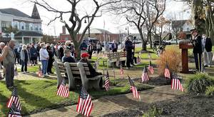 VIDEO: Belmar Observes Veterans Day by Honoring 'Defenders of the Nation' ... Past and Present