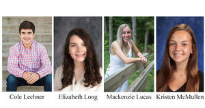 Four Area Seniors Receive Health  Care CRCF scholarships