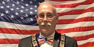 David Lewis PER, Exalted Ruler at Watchung Hills Elks Lodge 885