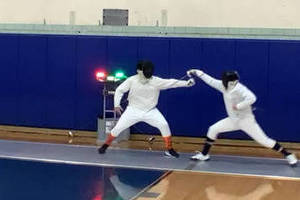 Chatham Men's Fencing Team Undefeated At Season Midpoint; Epees Deliver 9-0 Shutout