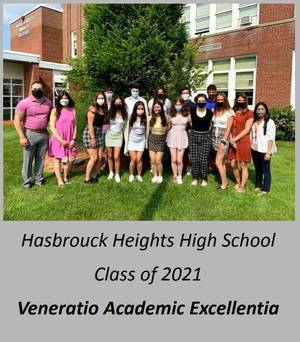 Hasbrouck Heights Honors the Top 10% Students from the Class of 2021