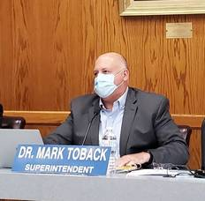 Wayne schools Superintendent Dr. Mark Toback
