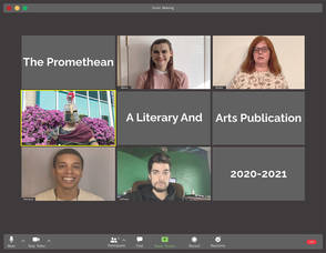 CCM Award-Winning Student Literary and Arts Publication Available for Online Viewing  2020-21 Issue of Promethean Features Wide Ranging Talent