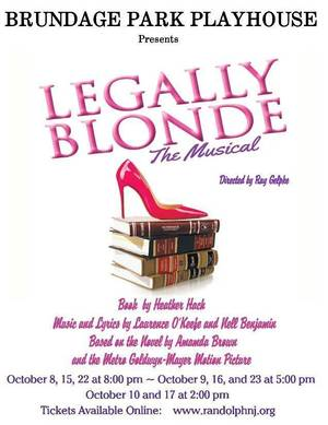 Legally Blonde Currently at the Playhouse