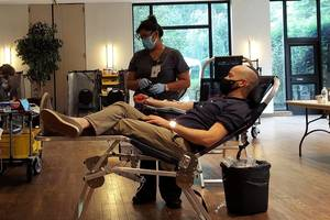 Livingston's Temple B'nai Abraham Hosts Blood Drive to Help Alleviate Nationwide Shortage