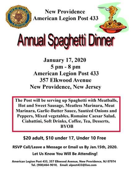 Top story 97d99266e565cc5c669c 2020 spaghetti dinner