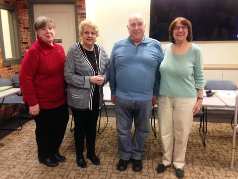 Top story a8c7c8a6ab6b8581a03e 2019 hh friends of the library officers  l r  are rosemarie settembrino  micky maschio  tony bernice  and rosalie nickles