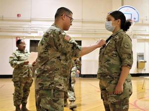 East Hanover National Guard Soldier Receives New Rank, New Responsibilities