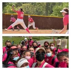 Watchung Hills Softball Slams Phillipsburg
