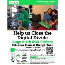 Tech Support: Computers 4 People Fundraiser to Refurbish Donated Computers - Wednesday, August 4th