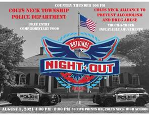 Colts Neck Police Department Invites Community to National Night Out,