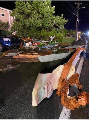 National Weather Service Confirms Tornado in Barnegat, Waretown and High Bar Harbor on LBI