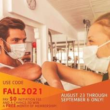 Join the Madison Area YMCA Between Aug. 23 - Sept. 6 and Initiation Fee Will Be Waived