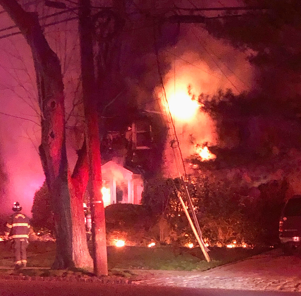 Fanwood Fire Extinguished Early Morning Wednesday