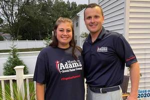 """Samantha Miccio believes Matt Adams is """"the right fit for this community."""""""