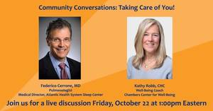 Community Conversations with Morristown Medical Center: Taking Care of You!