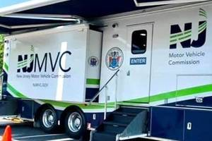 Motor Vehicle Commission's Mobile Unit Coming to Bordentown Township