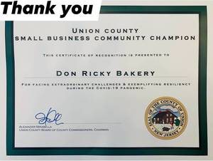 """Four Elizabeth Small Businesses Selected as """"Union County Small Business Champions"""""""