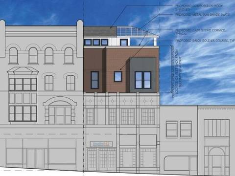Top story fcc25d79dfb255c83156 2   423 bloomfield avenue southern elevation rendering