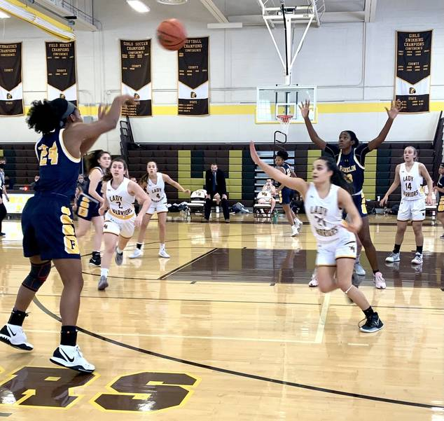WHRHS Basketball: Boys and Girls Split Battle of the Warriors, Martini Sets Record