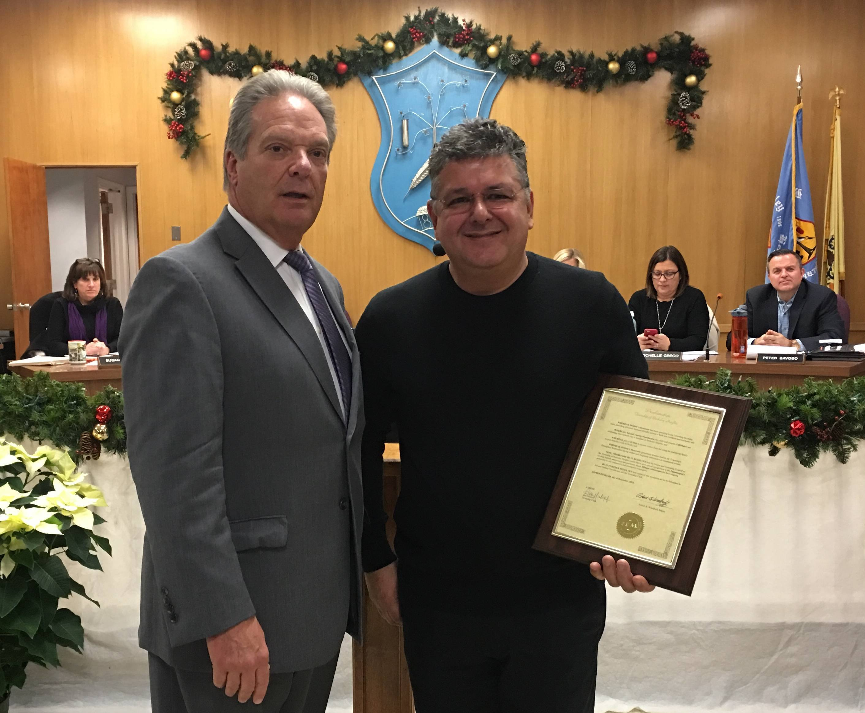 DiMaio's Honored