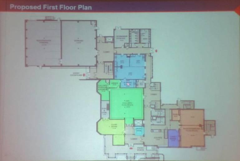 2 - Baird Community Center first floor plan.JPG